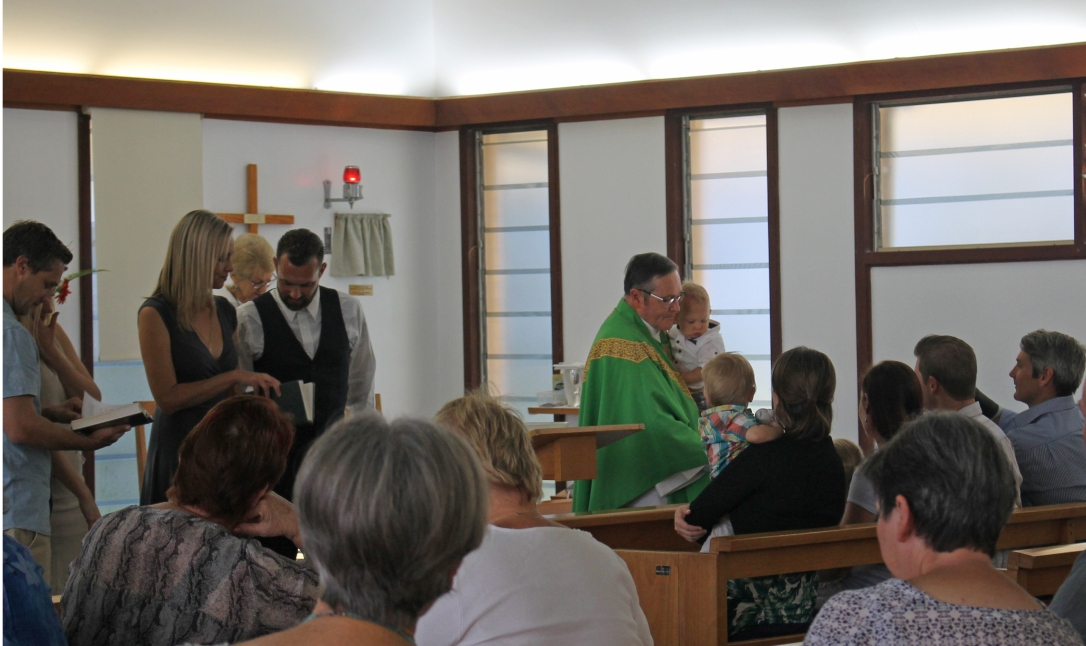 Baptism at Coolum Anglican Church