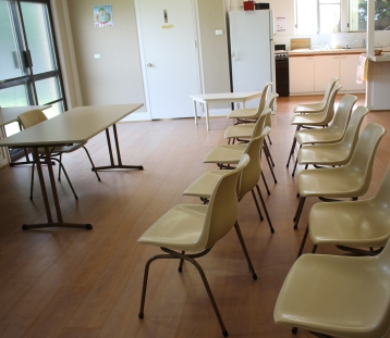 Hall with chairs