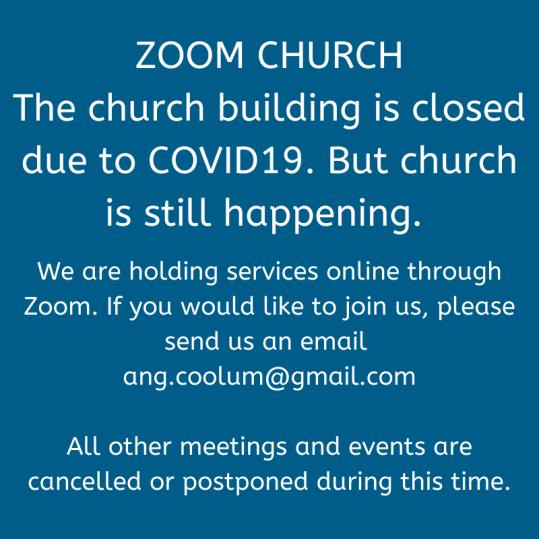 Zoom Church COVID 19